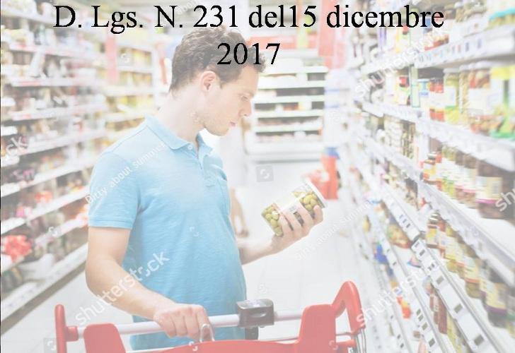 D.Lgs n. 231 del 15 dicembre 2017