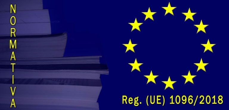 Reg UE 1096-2018 etichettatura olio